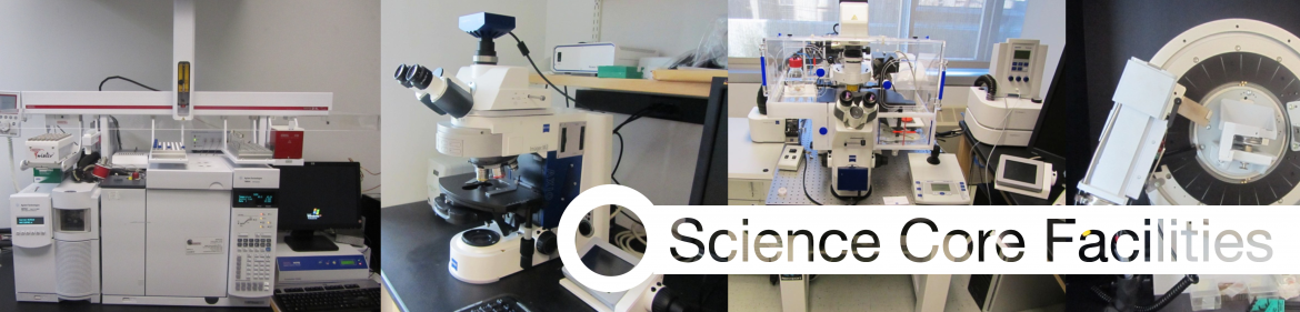 Click Here to go to schedule access to the Science Facilities.