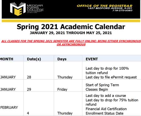 Link to open Academic Calendar PDF for Fall 2019